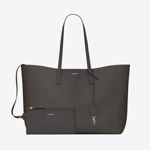 YSL SHOPPING EAST WEST TOTE IN GRAY (NEW)